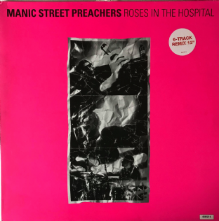 "Manic Street Preachers ‎- Roses In The Hospital  (12"") (NM/VG-) (1)"